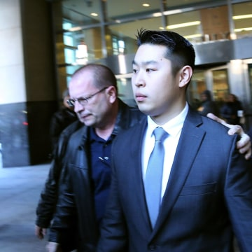 Image: NYPD Officer Indicted On Shooting Unarmed Man In Brooklyn Stairwell