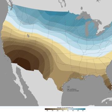 Image: Projected precipitation shifts