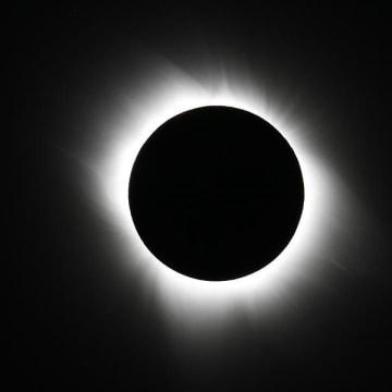 Image: Total solar eclipse