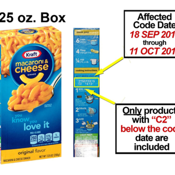 ... Recalls 6.5 Million Boxes of Mac and Cheese That Might Have Metal