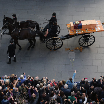 Image: Leicester Sees The Reinterment Of The Remains Of King Richard III