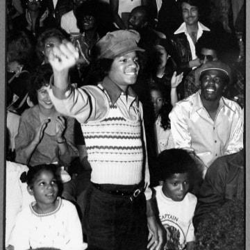 Michael Jackson at Manual Arts High School