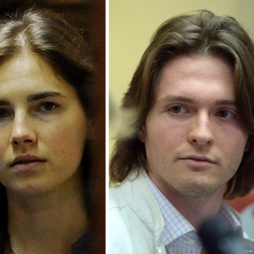 Image: Amanda Knox and Raffaele Sollecito