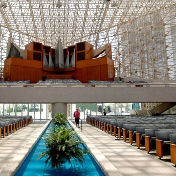 IMAGE: Interior of the former Crystal Cathedral