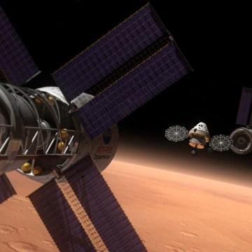 Image: Orion Mars mission
