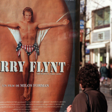 """Image: Poster for """"The People vs. Larry Flynt"""""""