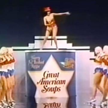 IMAGE: Ann Miller in Heinz soup ad