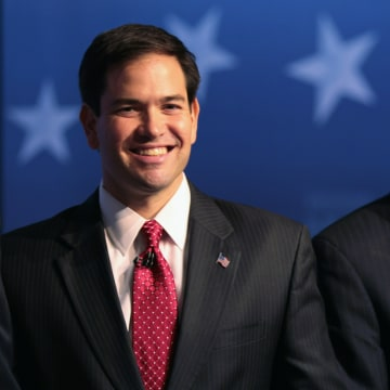 Image: Marco Rubio, Charlie Crist