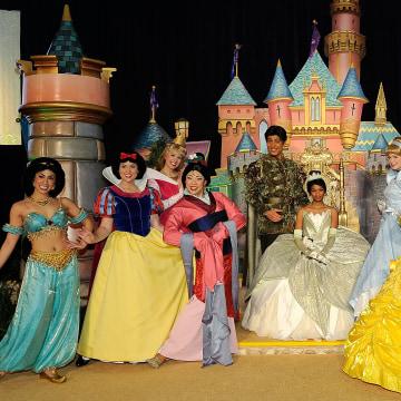 Princess Tiana's Official Induction