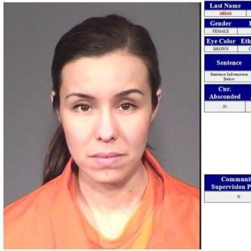 IMAGE: Jodi Arias prison intake record