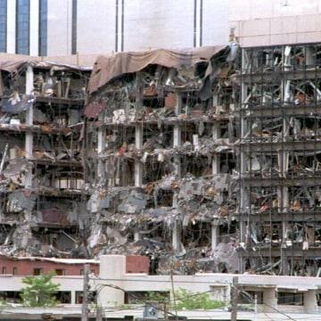 IMAGE:: Oklahoma City bombing 20th anniversary