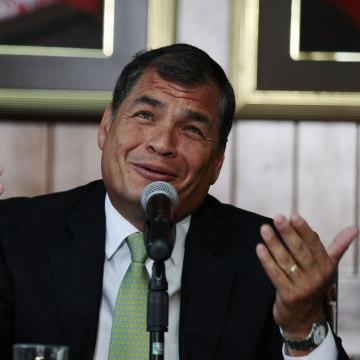 Image: President Rafael Correa