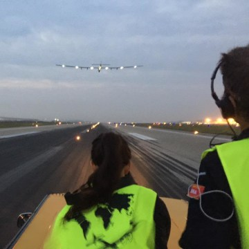 Image: Solar Impulse 2 takes off
