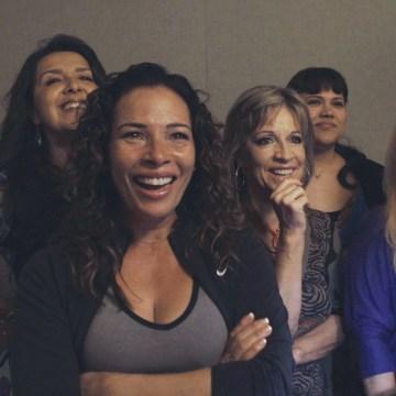 Image: Cast of Now En Español in the dubbing studio