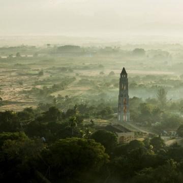 Image: Aerial view of Valle de los Indigenos, Cuba