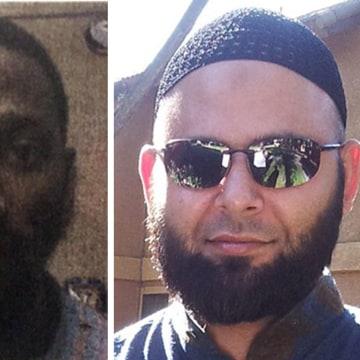 Image: Elton Simpson (left) and Nadir Soofi (right)