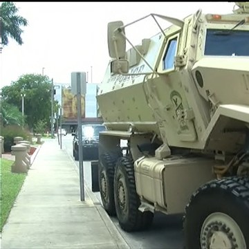IMAGE: Armored SWAT vehicle used by Ferguson, Missouri, police