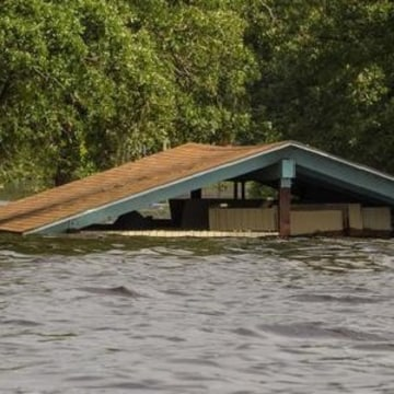 IMAGE: Submerged Texas park building