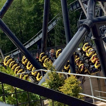 Alton Towers Roller Coaster Accident, Staffordshire, England