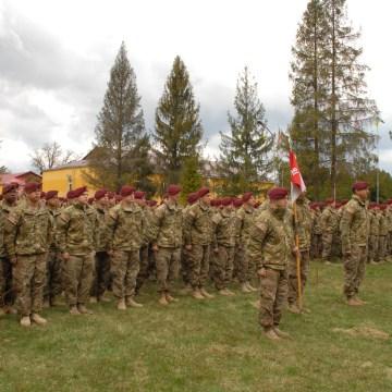 Image:  U.S. Army soldiers  in Yavoriv, Ukraine