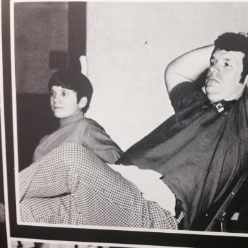 Image: Hastert in yearbook