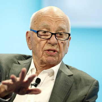 Rupert Murdoch, Executive Chairman News Corp and Chairman and CEO 21st Century Fox speaks at the WSJD Live conference in Laguna Beach