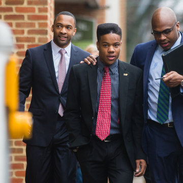 Image: University Of Virginia Student Martese Johnson Appears In Court Over His Violent Arrest For Public Intoxication