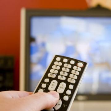 Image: movie watcher