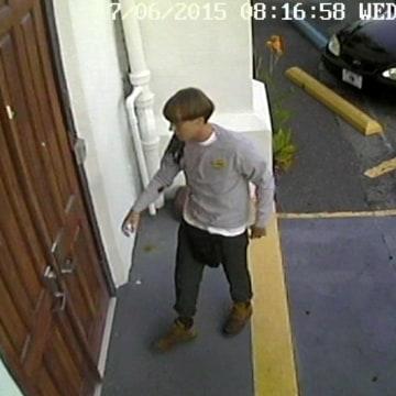 Image: Church shooting suspect
