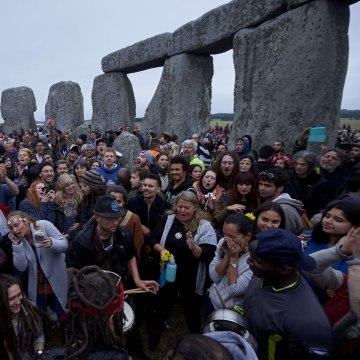 Stonehenge celebration: Summer Solstice Stonehenge
