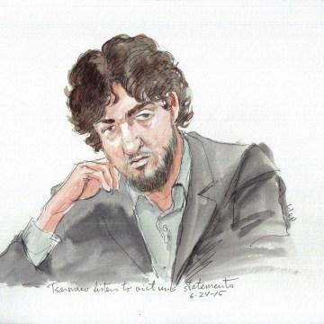 Arrives at prison: Dzhokhar Tsarnaev Prison