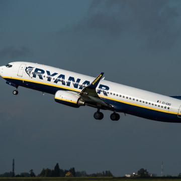 Image:  Ryanair plane
