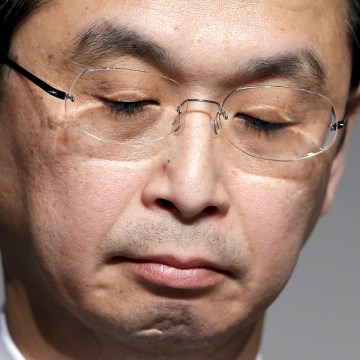 Image: Takata Corp Chief Executive Shigehisa Takada