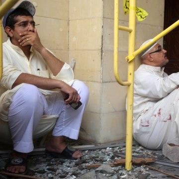 Image: Kuwait bombing