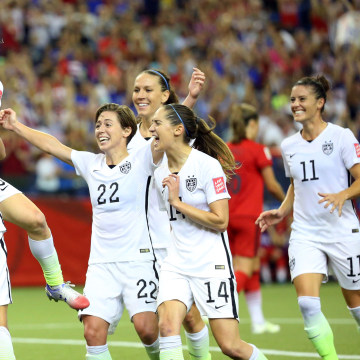 Image: Soccer: Women's World Cup-Semifinal-United States at Germany