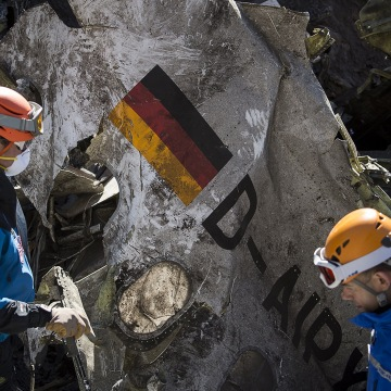 Image: Site of Germanwings crash