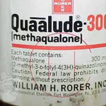 the hypnotic and sedative properties of the methaqualone Methaqualone hydrochloride is a quinazoline derivative with hypnotic and sedative properties it has been withdrawn from the market in many countries because of problems with abuse.
