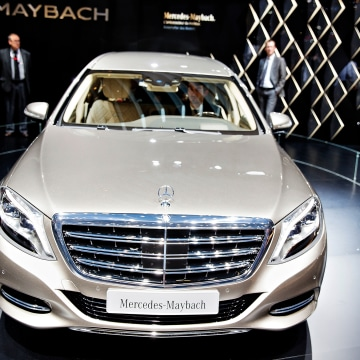 International Geneva motorshow, Mercedes-Maybach Pullman S600