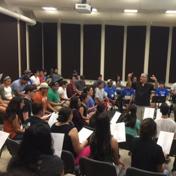 Image: University of Texas Longhorn Mariachi Camp
