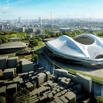 Image: Axed proposal for 2020 Tokyo Olympic Stadium