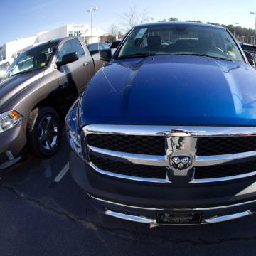 Image: Dodge Ram pickup trucks