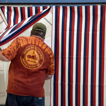 Image: Midterms Elections Held Across The U.S.