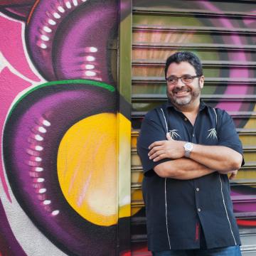 Image: Photo of Arturo O'Farrill.
