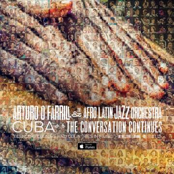 Image: Cuba: The Conversation Continues album cover.