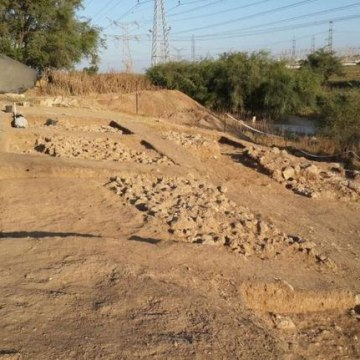 Image: Excavation at a Biblical-era city of Gath