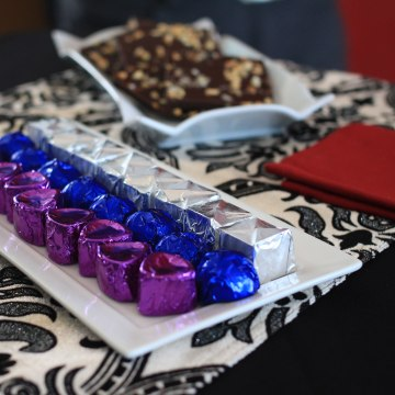 Image: Chocolates from Bajari Chocolates, an artisanal chocolate business in Puerto Rico.