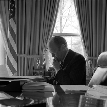 Image: Image: President Gerald Ford