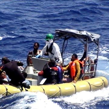 Image: ITALY-EUROPE-MIGRANTS-LIBYA-ACCIDENT