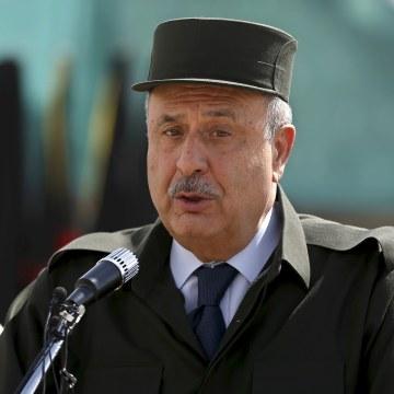 Image: Afghanistan's Interior Minister Nur ul-Haq Ulumi