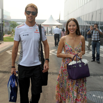 Jenson Button Knocked Out
